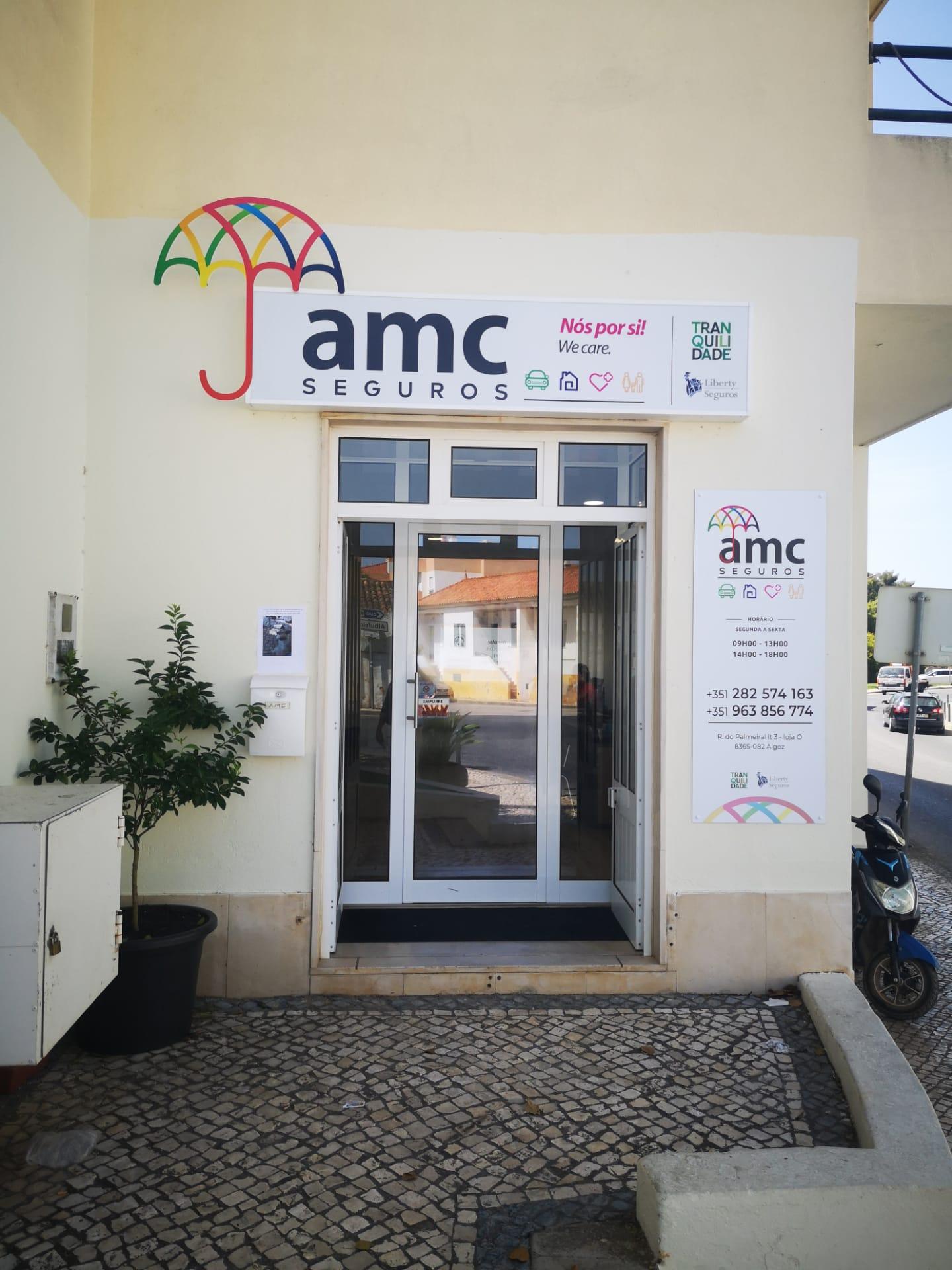 Entre AMC kontor i Algoz