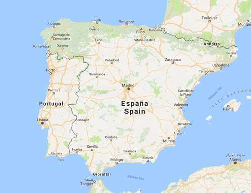 flyttfirma till spanien
