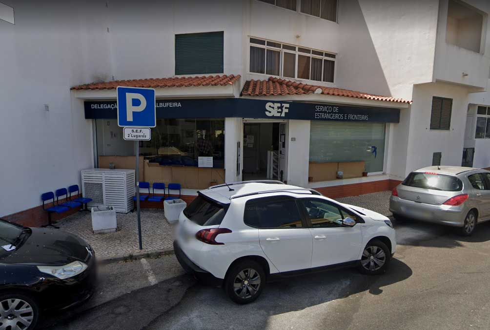uppehållstillstånd i portugal sefs kontor