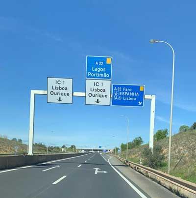 Köra bil till Portugal